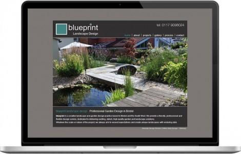 Web Design Portfolio - Case Study - Blueprint Landscape Design