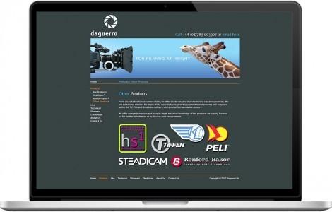 Web Design Portfolio - Case Study - Daguerro