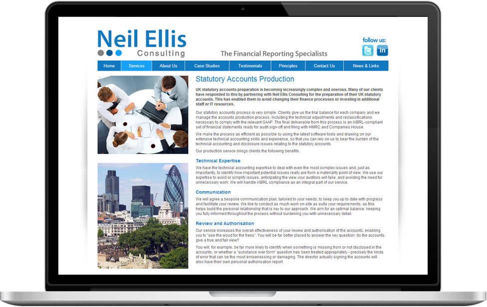 web design portfolio case studies