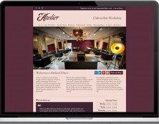 Web Design Portfolio - Case Study - Atelier Clifton