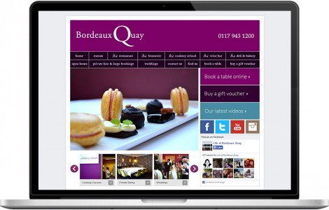 Web Design Portfolio - Case Study - Bordeaux Quay