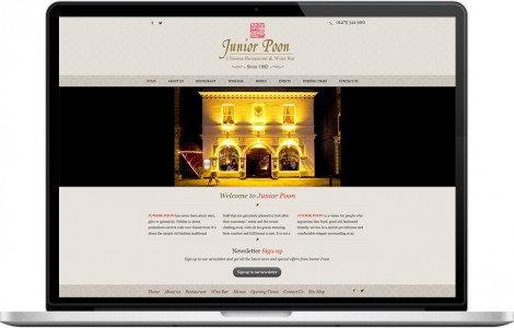 Web Design Portfolio - Case Study - Junior Poon
