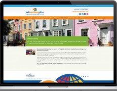 Web Design Portfolio - Case Study - Edventure Plus