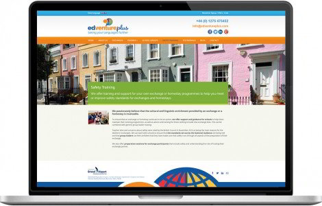Web Design Portfolio - Case Study - Edventure Plus