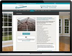 Web Design Portfolio - Case Study - Clifton Decorators