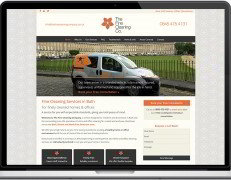 Web Design Portfolio - Case Study - The Fine Cleaning Company