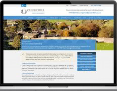 Web Design Portfolio - Case Study - Churchill Wealth Management
