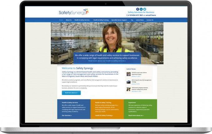 Web Design Portfolio - Case Study - Safety Synergy