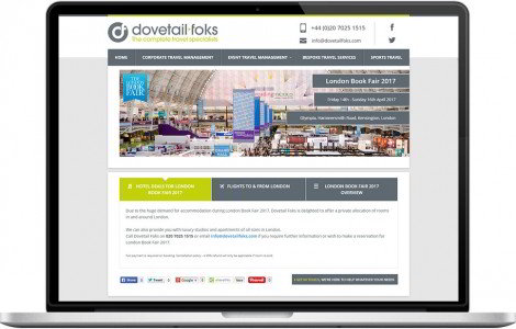 Web Design Portfolio - Case Study - Dovetail Foks