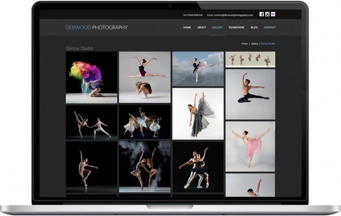 Web Design Portfolio - Case Study - Derwood Photography