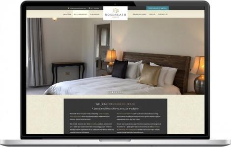 Web Design Portfolio - Case Study - Roseneath House