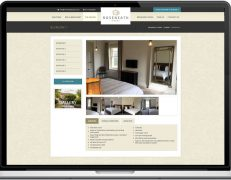 Web Design Portfolio - Case Study - Roseneath House