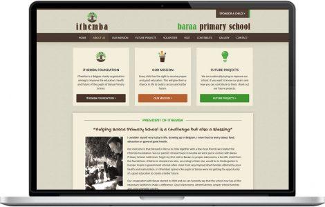 Web Design Portfolio - Case Study - Baraa Primary School