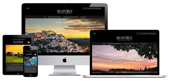 Web Design Portfolio Screenshot - Golf Travel Website