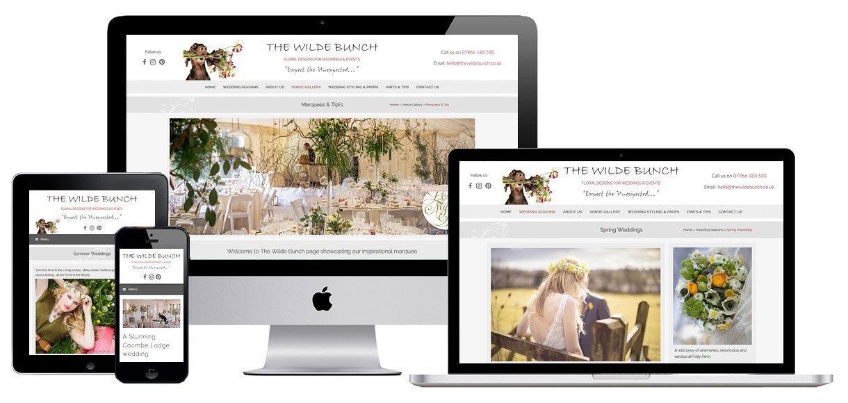 Web Design Portfolio Bristol - Case Study - Florist Website Design