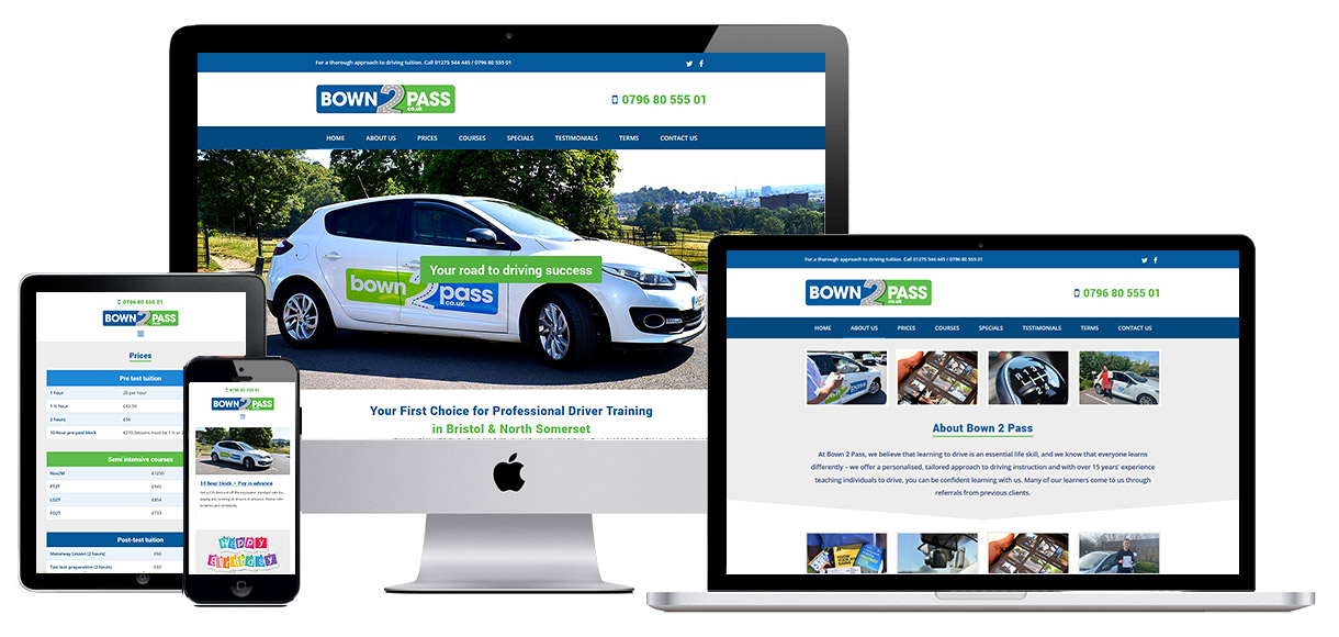 Case Study - Website for driving school