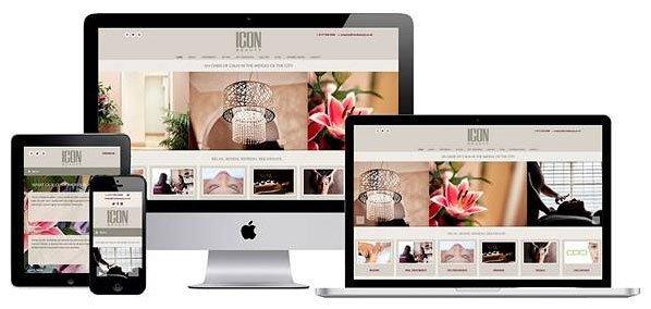 Portfolio Screenshot - Web Design for Bristol beauty salon based in Gloucester Road