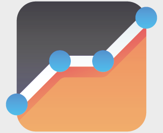 Analytics Chart graph icon
