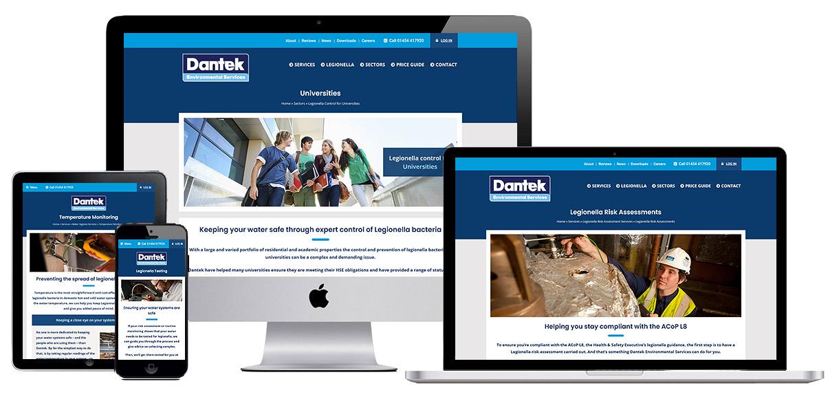 Web Design Portfolio - Dantek