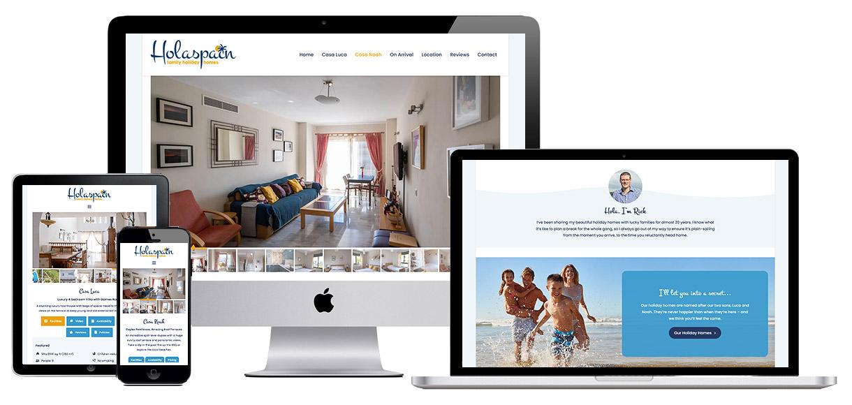 Web Design Portfolio - Hola Spain