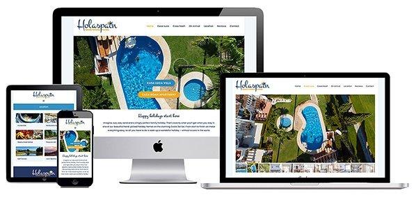 Website screenshot portfolio example