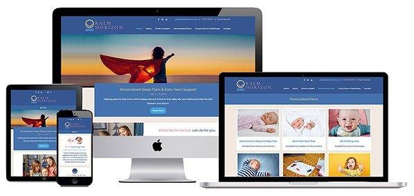 Portfolio Screenshot - Web design Bristol business - Portfolio screenshot example