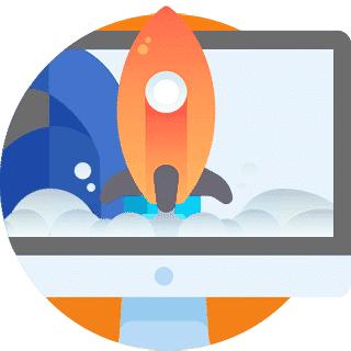 Startup rocket launch
