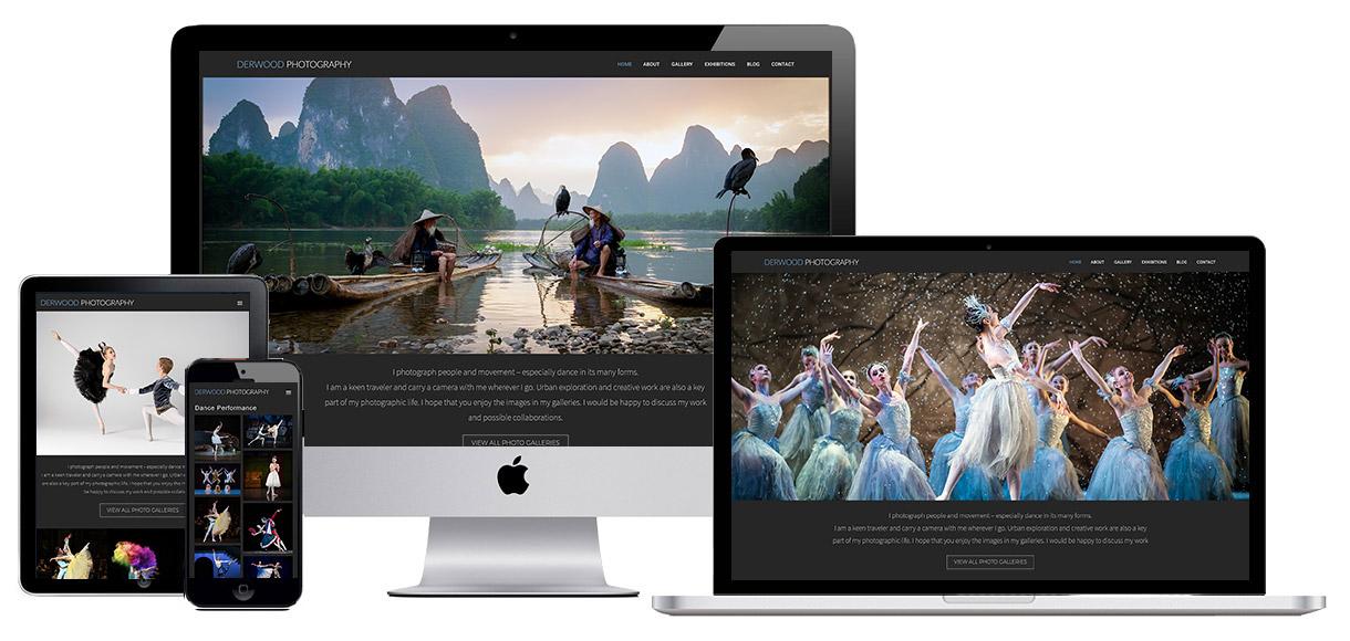 Case Study - Derwood Photography - Photography Website Design